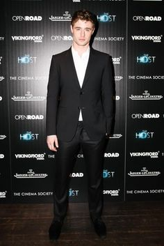 Max Irons at a screening of The Host in New York. #fashion