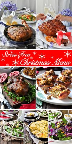 Christmas Special: Stress Free 7 Course Christmas Feast