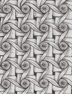 Life Imitates Doodles: Zentangle Inspired Art by Sandra Strait