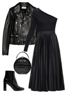 """Untitled #130"" by happysamson on Polyvore featuring Yves Saint Laurent, Prada and Aspinal of London"