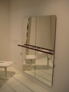 I saw an amazing Ballerina mirror at iSalone Milan a couple of days ago, perfect in a little girls room....