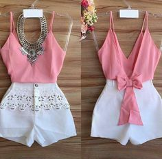 32 Ideas Diy Ropa Juvenil For 2019 Short Outfits, Spring Outfits, Trendy Outfits, Cool Outfits, Look Fashion, Girl Fashion, Womens Fashion, Casual Dresses, Fashion Dresses