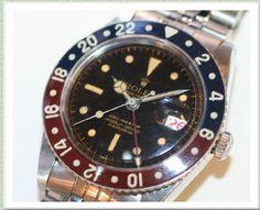 ROLEX GMT master 1st model Ref.6542