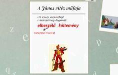 Petőfi Sándor: János vitéz-összefoglalás by Veronika Orbán Verona, Cover, Books, Libros, Book, Book Illustrations, Libri