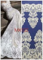 Z-han62035 Unique Embroidered Pattern Design French net Lace High Quality