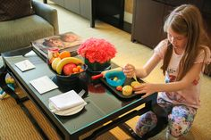 Decorate-your-own cupcakes welcome amenity at Four Seasons Hotel Beijing - Stay in Beijing with Kids at the Four Seasons via @lajollamom