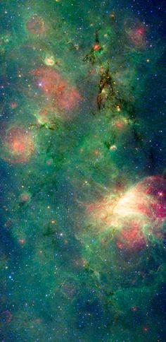 Omega Nebula Complex. Yup, this is real