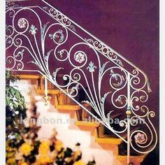 handrails looks like medieval manuscript painting