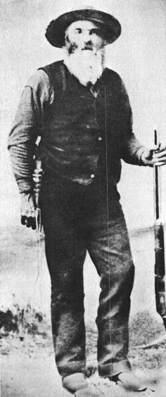 John Johnson, known as the crow killer due to a blood feud he fought with the crow tribe. He killed so many enemies with his knife that the chief of the tribe made him a member. He was the inspiration behind the movie, Jerimiah Johnson.