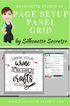 Let's Explore – Setup Panel – Tab 2 Silhouette School, Silhouette Cutter, Silhouette Curio, Silhouette Vinyl, Silhouette Cameo Machine, Silhouette Portrait, Silhouette Cameo Tutorials, Silhouette Projects, Happy Crafters