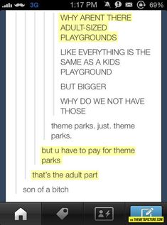 Adult Playgrounds