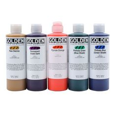 Golden Fluid Acrylics 8oz.
