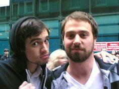 jon & brendon // panicatthedisco.net // brendon-urie.com