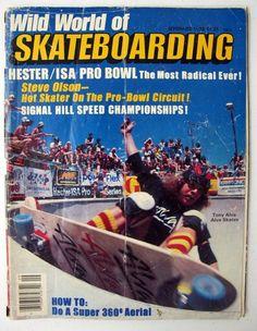 Vintage Wild World of Skateboarding Magazine 1978