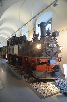 99 535 im Verkehrsmuseum Dresden