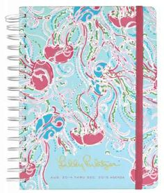 Cahoon's Closet - Lilly Pulitzer Large 2014-15 Agenda - Jellies Be Jammin', $28.00   (http://www.cahoonscloset.com/shop-by-category/stationery-calendars/lilly-pulitzer-large-2014-15-agenda-jellies-be-jammin/)