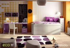 Hermida- Nueva colección ECO de mobiliario juvenil