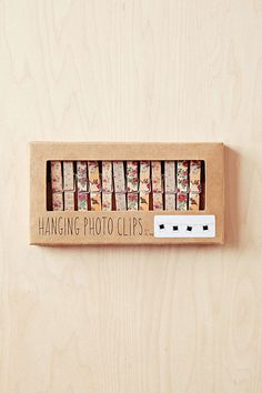 Floral Photo Clip String Set #need