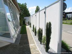 Modulare Wandsysteme Sichtschutz Lärmschutz 270 Cm Höhe