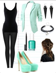 An outfit for a job interview or if you just want to look sheek