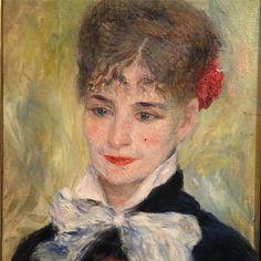 #AugusteRenoir# portrait d une roumaine ( madame Iscovesco)