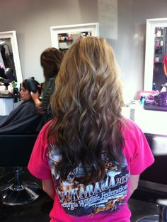 reverse ombra hair color | Pretties / Reverse ombré hair - great colors