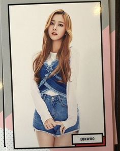 PLEDIS Girlz photocard EunWoo