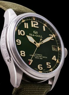 Military 1st Edition Movement: Sea-Gull Automatic ST2553, 25J :: 44mm