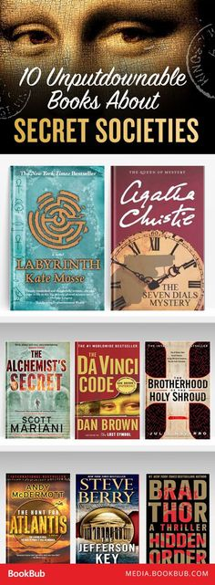 10 books about secret societies you won't be able to put down.