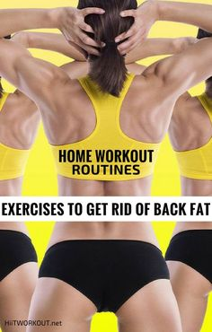 Want to lose back fat but don't know how? Learn how to get rid of back fat with easy home workout routines that target problem areas and tone back muscles so ...
