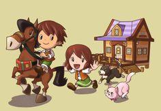 Fantasy Life Nintendo 3DS exclusive concept art (5)