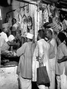 Butcher Shop - Delhi, 1946