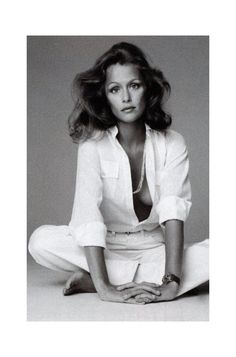Style Edit: Lauren Hutton  | That All-American girl who embraced uniform silhouettes long before the others. See more of our style icon Lauren Hutton on The Blog.
