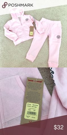 NWT True Religion Flower Power Set 24m New with tags True Religion Flower Power set size 24months. So cute and so soft! True Religion Matching Sets