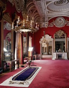 The Telegraph's exclusive behind-the-scenes photographs of the exhibition celebrating the anniversary of the Queen's Coronation. Windsor Palace, Windsor Castle, Royal Palace, Abandoned Houses, Abandoned Castles, Abandoned Mansions, Abandoned Places, Grand Island Mansion, Queen's Coronation