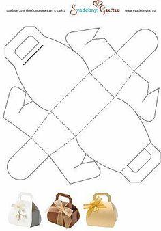 Geschenktasche/-tüte aus Pappe/Papier