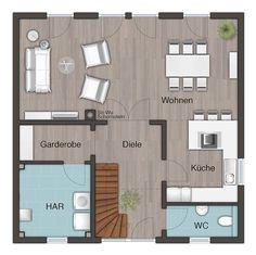 Wohnfläche Erdgeschoss
