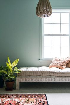 Various shades of verdant green seem to be popping up everywhere, including at the top of the list for most on-trend color. Why? Because it's just so versatile. #greenpaintcolors #homecolorschemes #greenpaintideas #accentwalls #bhg Decor, New Paint Colors, Dark Green Kitchen, House Color Schemes, Color, Color Inspiration, Green Paint Colors, White Rooms, All White Room