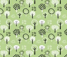 Orchard fabric by emseeitch on Spoonflower - custom fabric