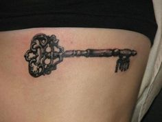 I want a key tattoo exactly like this.