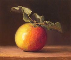 Apple Painting by Abbey Ryan