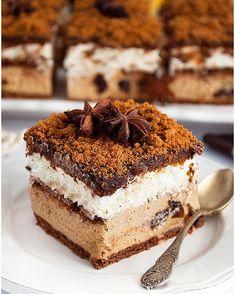 Babka Caffe latte - I Love Bake Polish Recipes, Polish Food, Latte Macchiato, Food Cakes, Cakes And More, Tiramisu, Pavlova, Cake Recipes, Cheesecake