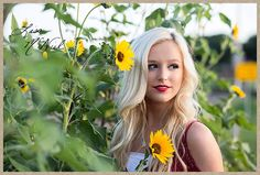 Click the pic for 25 more photos of a beautiful Texas high school senior cheerleader full of spirit and spunk, Flower Mound, Dallas Photographer, sunflowers