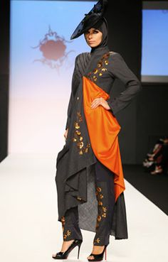 Hijab Fashion Show | ... have hijab fashion shows fills the catwalks with models in from nearby