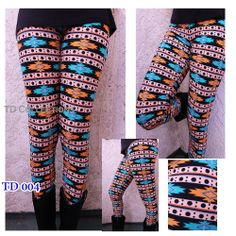 Colorful Print Leggings Stretchy Sexy Pencil Pants One Size, Polyester/ Spand Print Leggings, Tight Leggings, Pattern Print, Print Patterns, Color Patterns, Soft Fabrics, Tights, Pencil, Colorful