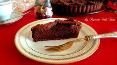 Per gli amanti del cioccolato vi propongo la crostata al cioccolato di Ernest Knam....il re del cioccolato!ll pasticcere tedesco cresciuto alla corte dell
