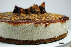Tarta de queso con higos   Magia en mi cocina   Recetas fáciles de cocina paso a paso Relleno, Cheesecakes, Desserts, Recipes, Food, Biscuit Cake, Cake Recipes, Fig Jam, Sweet Tables