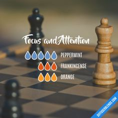 Focus and Attention - Essential Oil Diffuser Blend