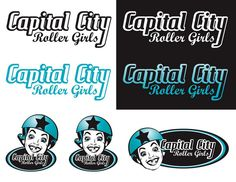 Capital City Roller Girls: Ideation Nation by Shanda Nelson, via Behance