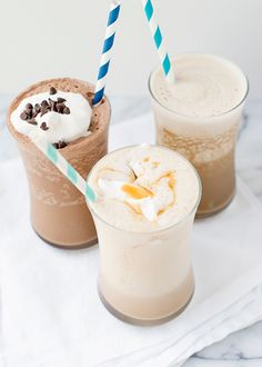 Almond Milk Iced Coffee Shakes || Baked Bree